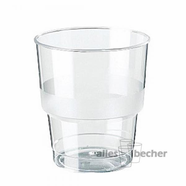 Trinkglas PS glasklar 280ml