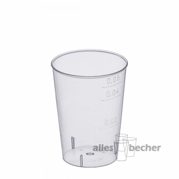 Trinkglas PS glasklar 50ml