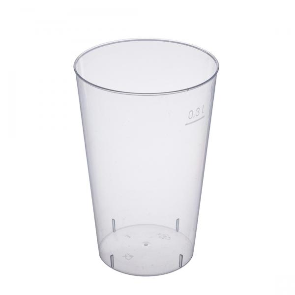 Trinkglas PS glasklar 300ml