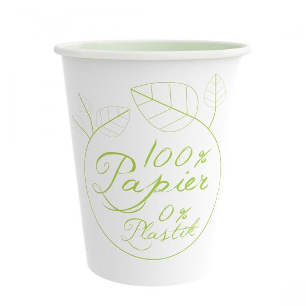 PurePaper Becher 300ml/12oz 100% Papier