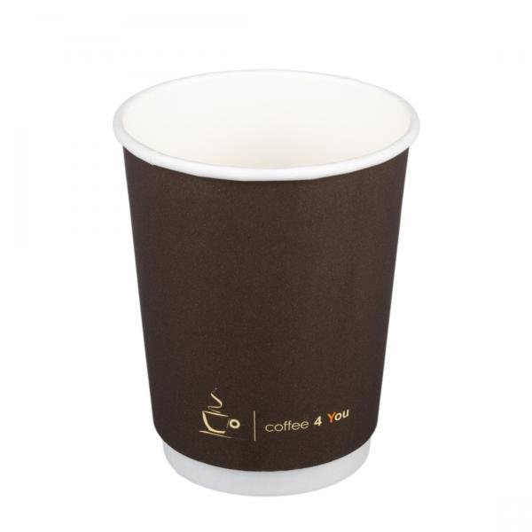 Pappbecher Doppelwand Coffee-time 300ml