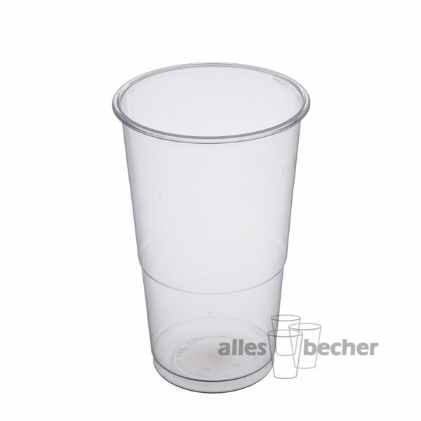 PP Ausschankbecher transparent 250ml