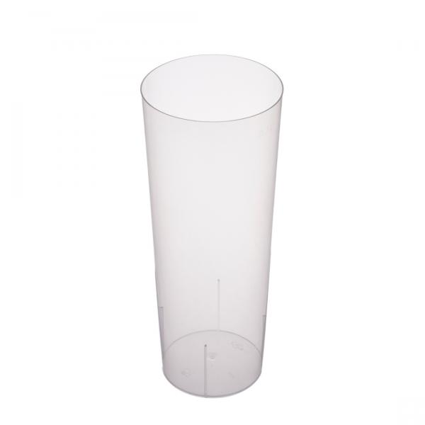 Longdrinkglas PP transparent 300ml