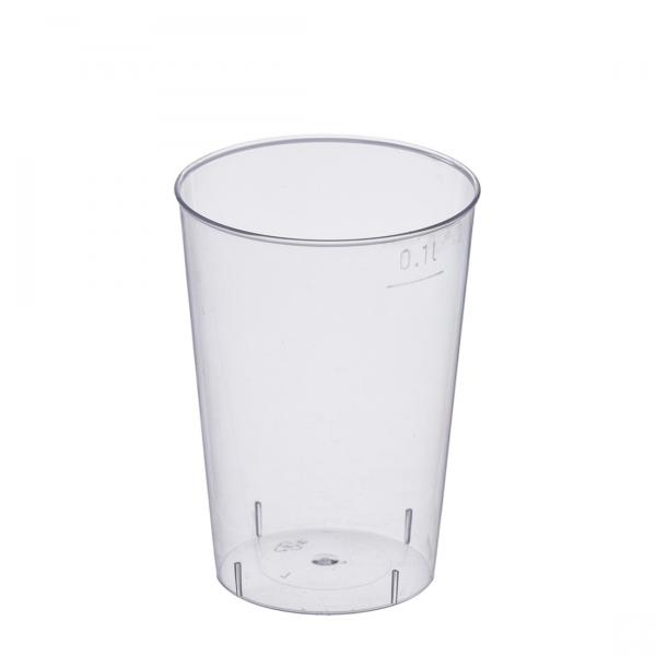 Trinkglas PS glasklar 100ml