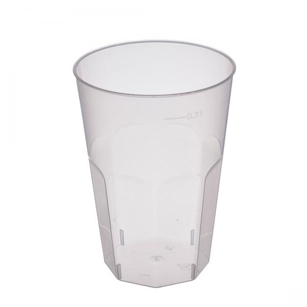 Decorglas PP transparent 300ml