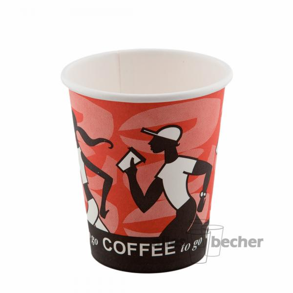 Pappbecher Coffee to Go D4 200ml